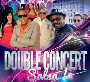 double concert de salsa
